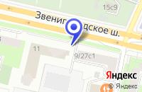 Схема проезда до компании ХЛЕБОЗАВОД № 16 в Звенигороде
