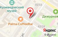 Схема проезда до компании Бизнес Пресс в Подольске