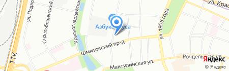 Ваш Представитель на карте Москвы