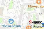 Схема проезда до компании Разлив в Москве