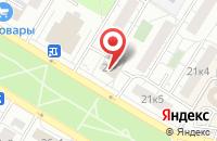 Схема проезда до компании Бюро Развития Проекта в Москве