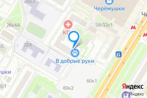 Комната в трехкомнатной квартире в Москве м. Новые Черемушки, Профсоюзная улица, 58к4, подъезд 1