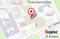 Схема проезда до компании Бизнеспроспект в Москве