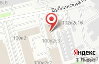 Схема проезда до компании Мосштамп в Москве