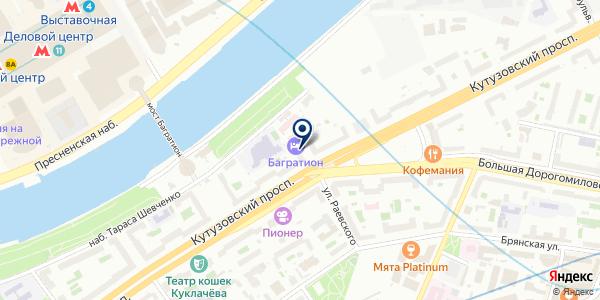 Русский Арболит на карте Москве