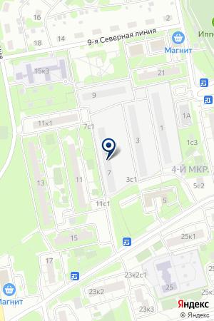 Ремонт квартир от косметического до капитального на карте Москвы