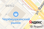 Схема проезда до компании Тоне в Москве