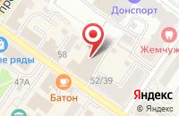 Схема проезда до компании ВТБ Банк Москвы в Подольске