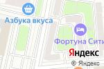Схема проезда до компании Морена в Москве