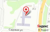 Схема проезда до компании Средняя общеобразовательная школа №11 в Подольске