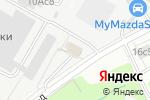 Схема проезда до компании Черемушки в Москве