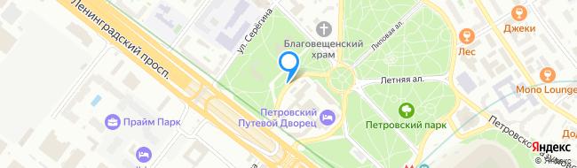 Левая Дворцовая аллея