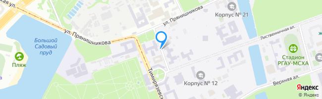 Тимирязевский проезд