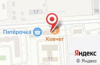 Схема проезда до компании Агат в Подольске
