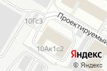 Схема проезда до компании Победа Финанс в Москве