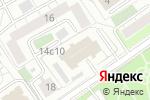 Схема проезда до компании Пожарная часть №25 в Москве