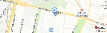Марр Плаза на карте Москвы