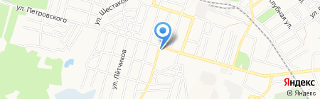Ивушка на карте Донецка
