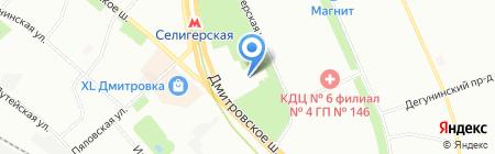 Я любимый на карте Москвы