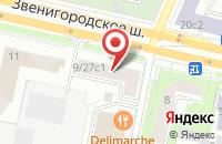 Схема проезда до компании Каскад-М в Москве