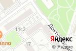 Схема проезда до компании Национальное бюро недвижимости в Москве
