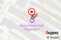 Схема проезда до компании Трансформер в Подольске