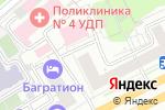 Схема проезда до компании Кутузовский 18 в Москве