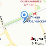Маникюрный салон на карте Москвы