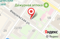 Схема проезда до компании Адвокатский кабинет Чурсина В.Г. в Подольске