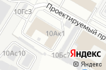 Схема проезда до компании РФК Корса в Москве