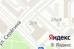 Схема проезда до компании Петровский парк в Москве
