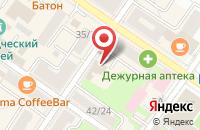 Схема проезда до компании Сапожок в Подольске