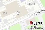 Схема проезда до компании Пожарный магазин в Москве
