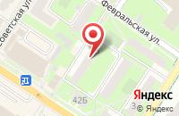 Схема проезда до компании Мандарин в Подольске