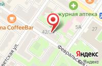 Схема проезда до компании Подольск-ОРТО в Подольске