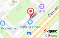 Схема проезда до компании Флорелия в Москве