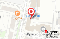 Схема проезда до компании Арт-Манеж в Москве