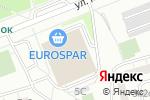 Схема проезда до компании ALEX fitness в Москве