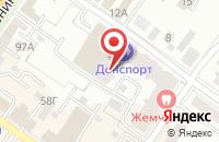 Схема проезда до компании Подмосковье в Подольске