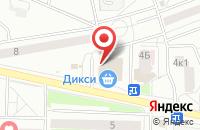 Схема проезда до компании Страус в Подольске