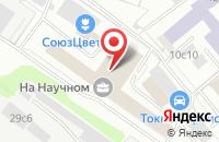 Схема проезда до компании Строймонтажкомплект в Москве