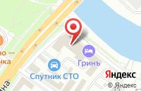 Схема проезда до компании Русфинанс банк в Подольске