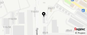 Авто-Лион на карте Москвы