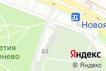 Схема проезда до компании Ясневское кладбище в Москве
