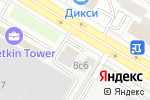 Схема проезда до компании Арантас в Москве