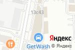 Схема проезда до компании МФО Кредитфинанс в Москве