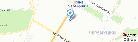 Велоспортсервис на карте Москвы