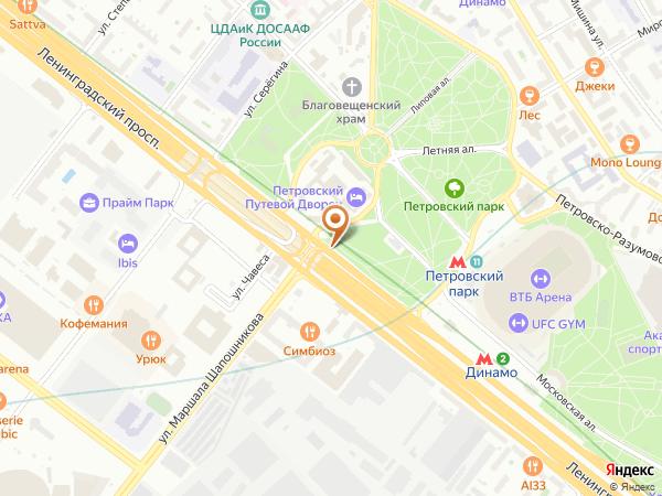 Остановка Путевой дворец в Москве