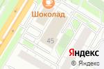 Схема проезда до компании Центр крепежных изделий в Москве