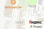 Схема проезда до компании Proff Comfort в Москве
